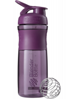 Шейкер Blender Bottle SportMixer Twist Cap Full Color, сливовый, 828 мл