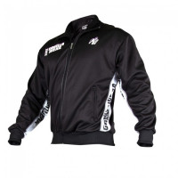 Толстовка Gorilla wear Track Jacket Black/White