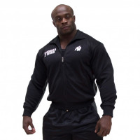 Толстовка Gorilla wear Track Jacket Black/Grey
