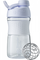 Шейкер Blender Bottle SportMixer Twist Cap Full Color, белый, 591 мл